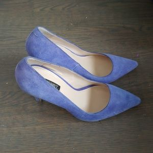 Shoemint Periwinkle Pumps